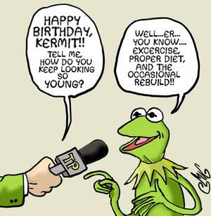 Kermit Bday Interview
