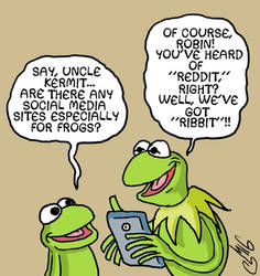 Social Media For Frogs by Smigliano
