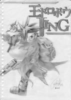 king of bandits JING - sketch by trickinguin