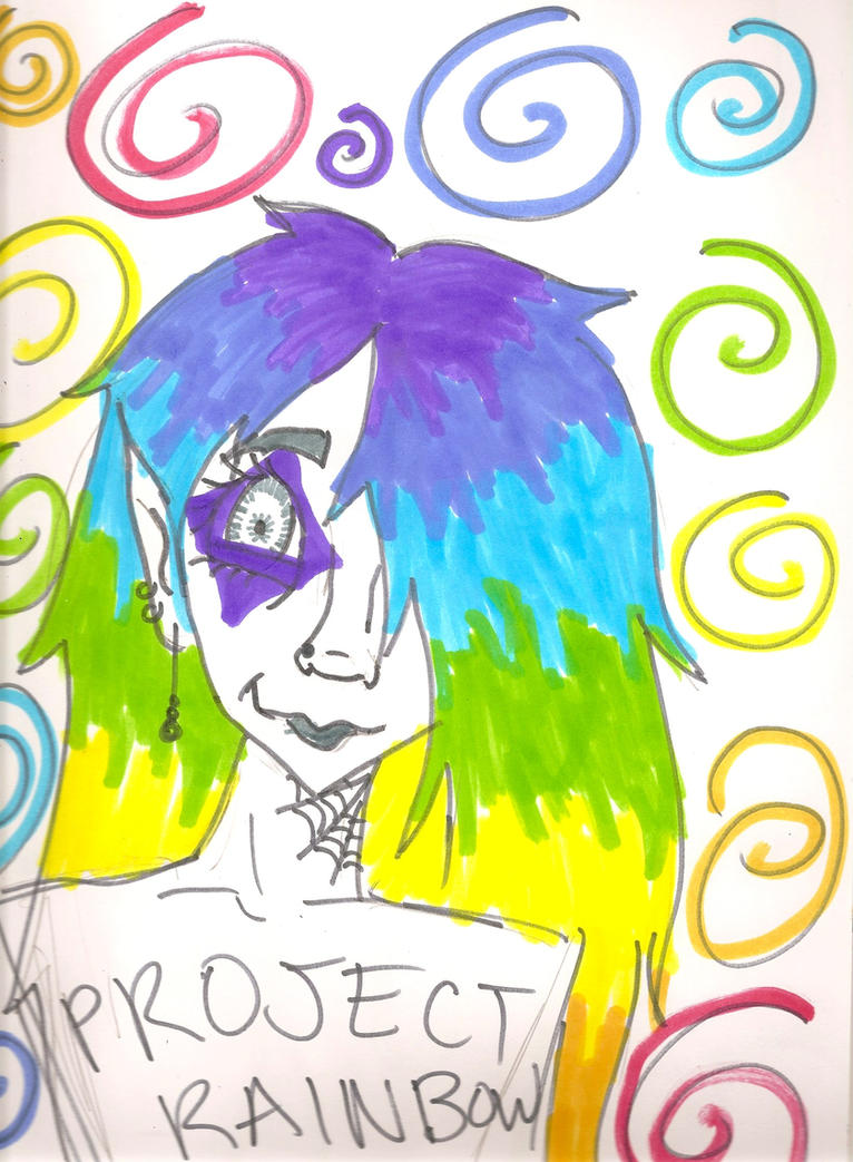 Project rainbow berzerka by izzabella43 on deviantart for White rainbow project