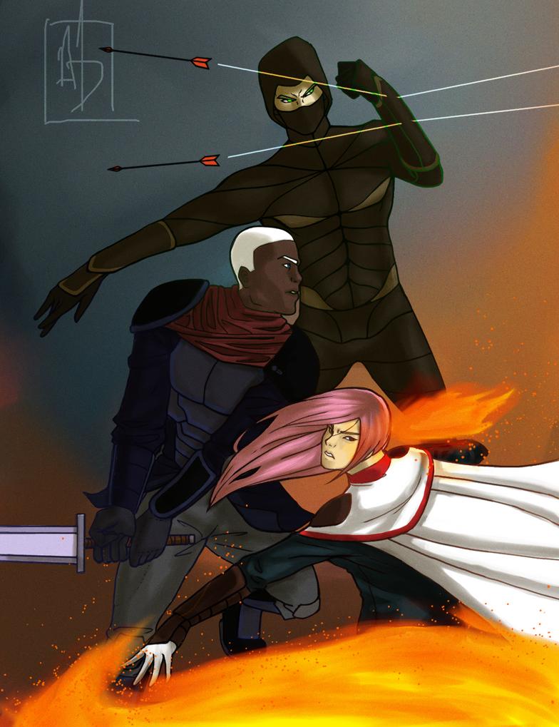 There's glory on violence... by AlanDjayce