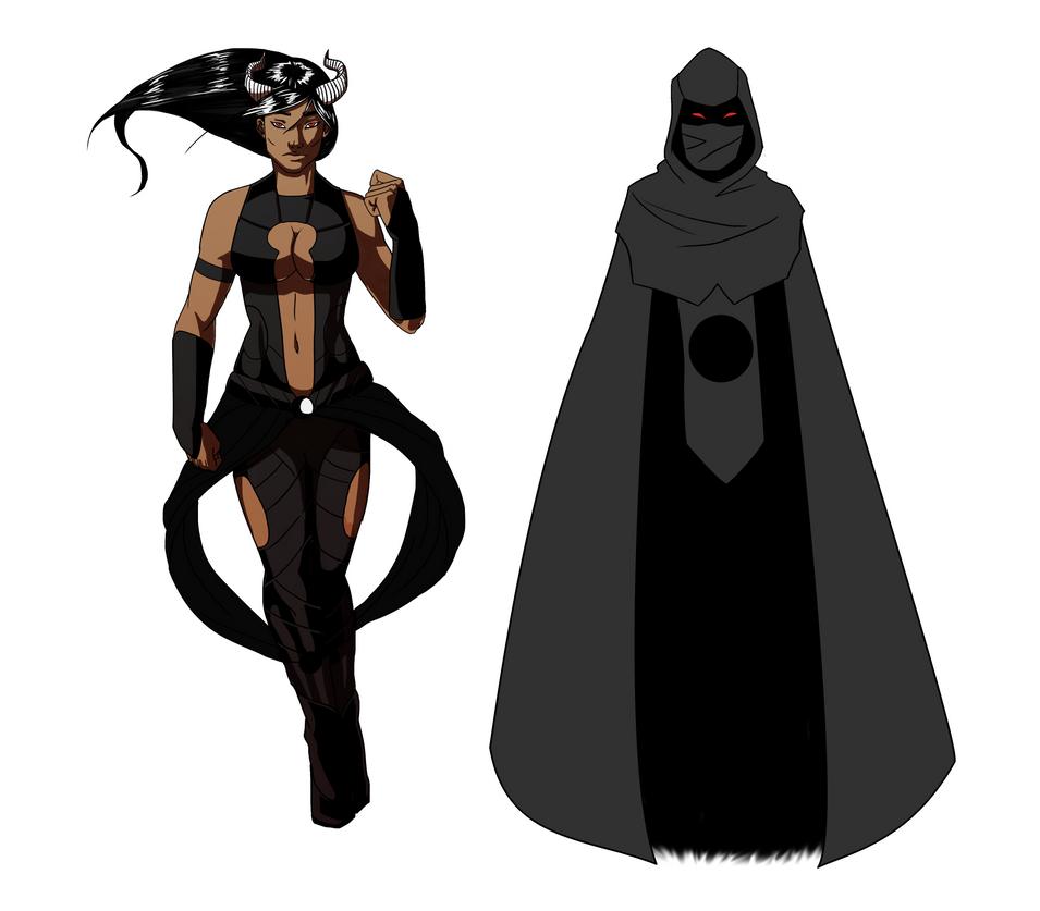 Alessa, Half-Succubi Lady of Secrets - Commission! by AlanDjayce
