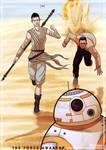 The Force Awakens - Escape from Jakku