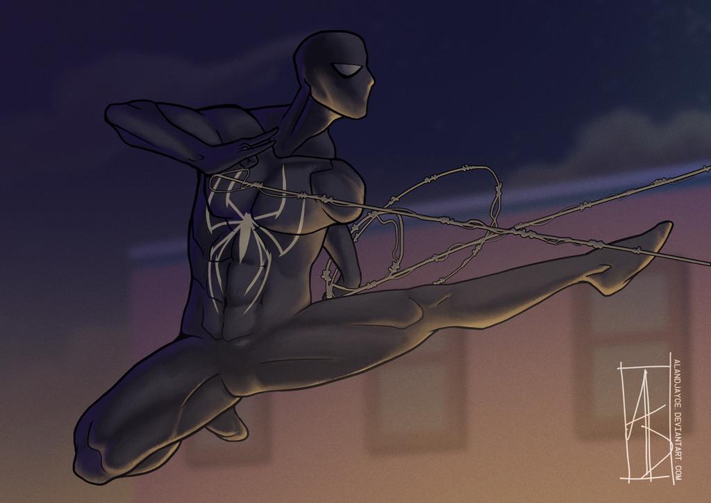 Black Suit by AlanDjayce