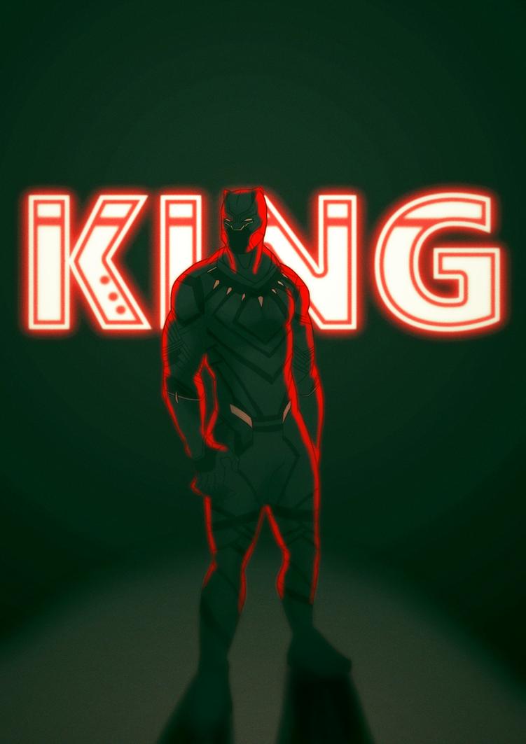 King of Wakanda by AlanDjayce