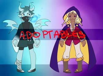 Adoptable Duo (CLOSED) by MonotoneDreamer