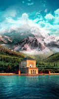 Magical landscape-Menara