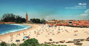 the sea in Marrakech