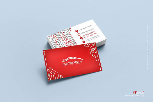 Electrotech business card