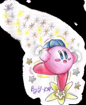 Starstorm ESP Kirby by Yukari-Kaenbyou