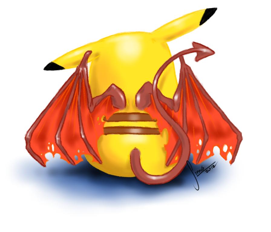 evil pikachu wallpaper - photo #5