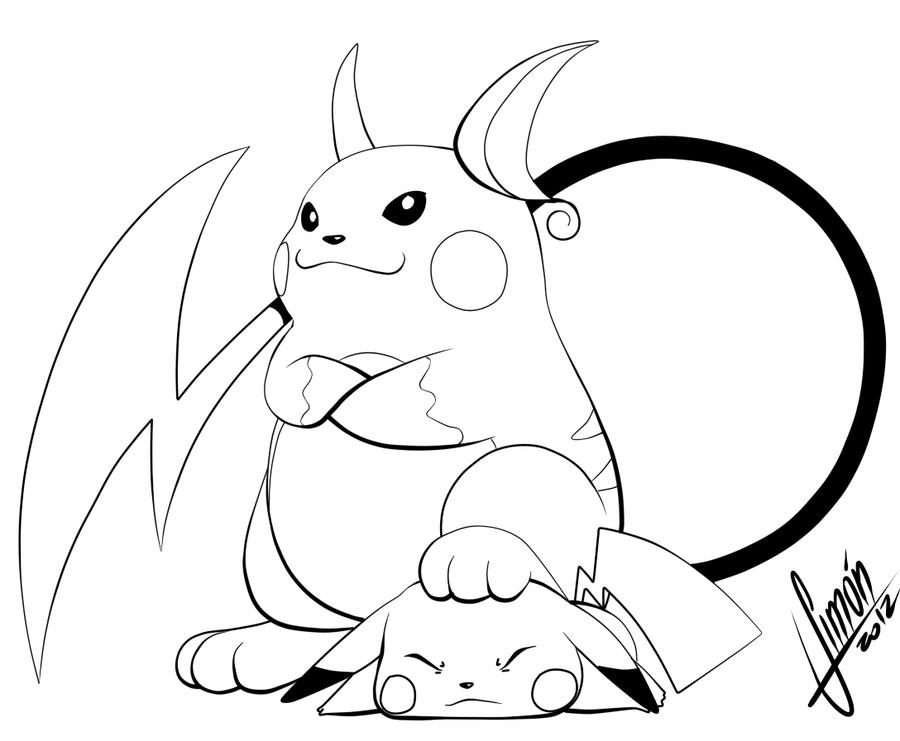 Raichu and Pikachu KO by estanque on DeviantArt - photo#5