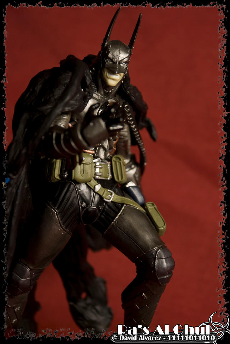 Evil Batman by dalvarez-v on DeviantArt