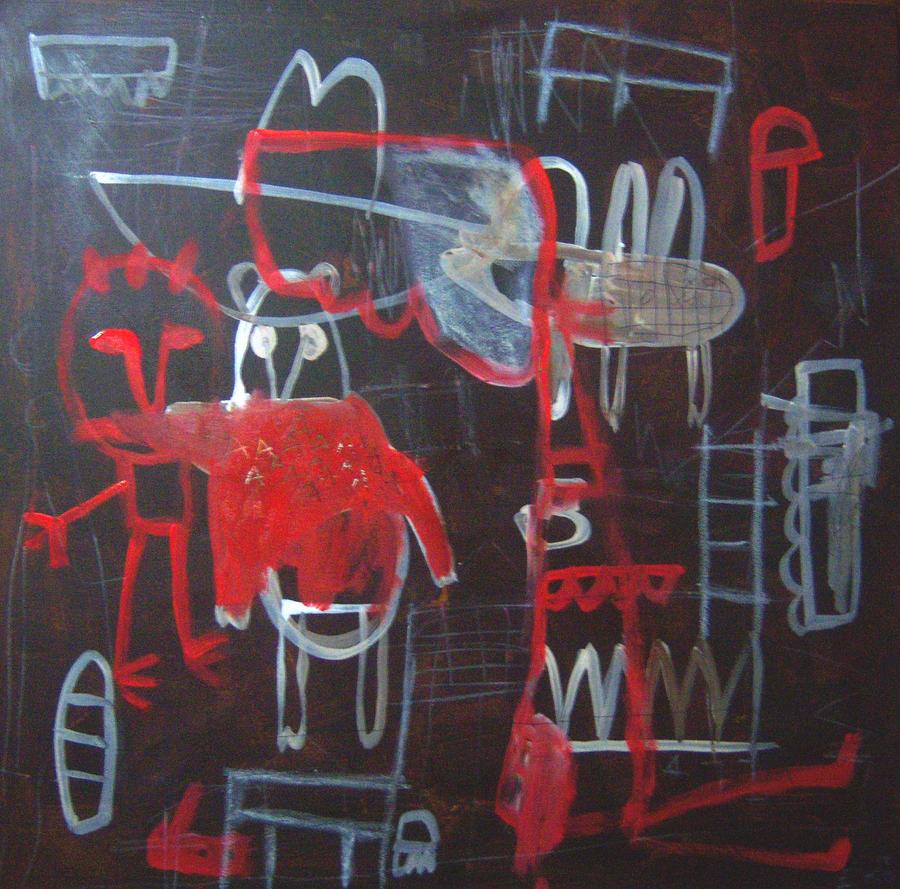 red cowboys in paradise by kotakatik