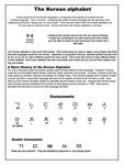 Introduction Korean Alphabet