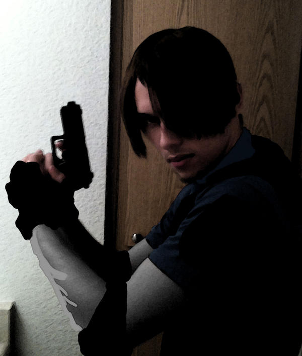 Leon cosplay progress by kaikun2236
