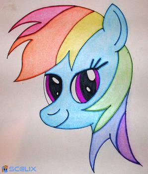 Rainbow Dash - Head