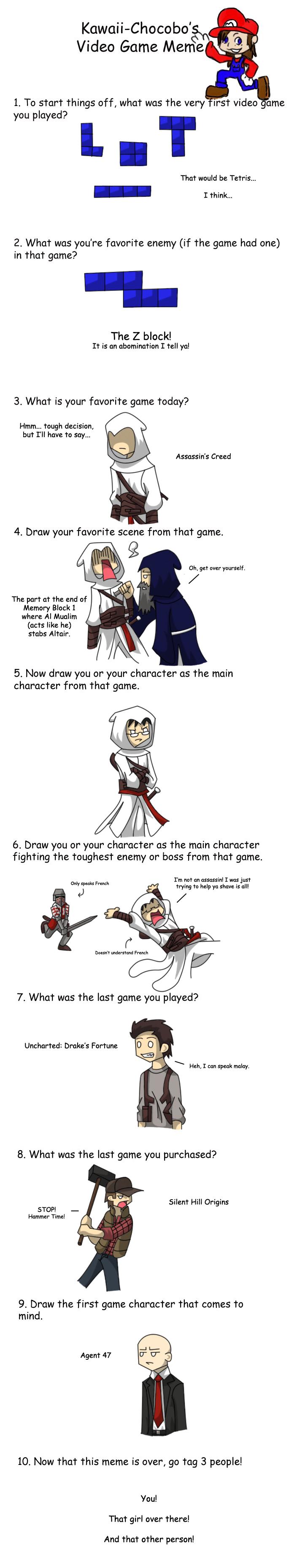 Teh Game Meme by dinorap19