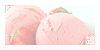- strawberry ice cream stamp - by ABorealis