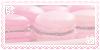 - strawberry macaron stamp - by ABorealis