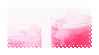 - pink ice tea stamp - by ABorealis
