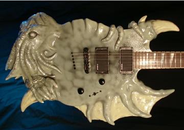 Cthulhu Guitar by ktmazur