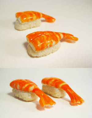 Shrimp sushi by lava-tomato