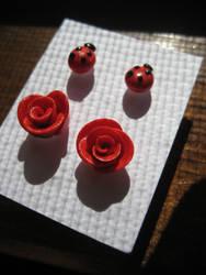 Rose and Ladybug