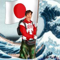 YC11: Hideaki Akaiwa by Lady-Mage