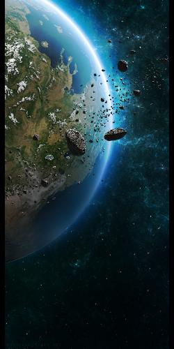 Asteroid Belt by TehAngelsCry