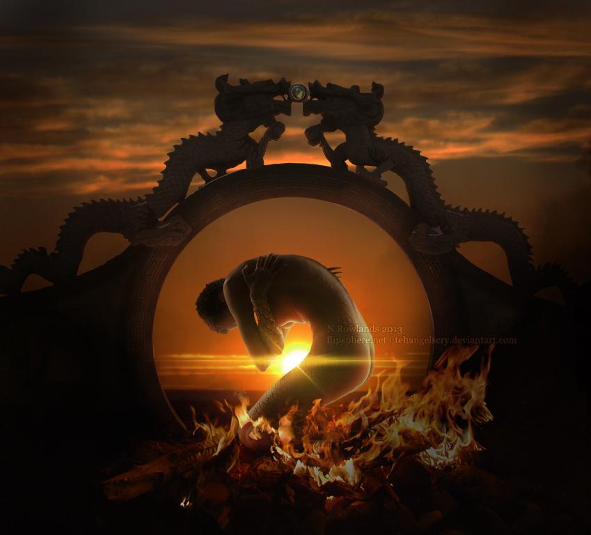 Reborn in Fire by TehAngelsCry