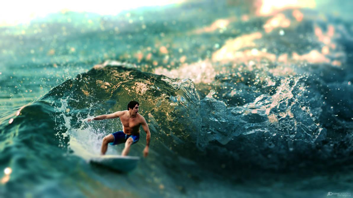 Tiny Surfer