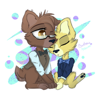 AT : Chibi-Bros by NastyaKatseen