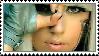 Lady Gaga stamp. by thewolfcankill