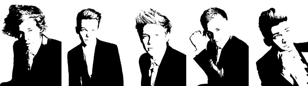 One Direction pop art by thewolfcankill on DeviantArt