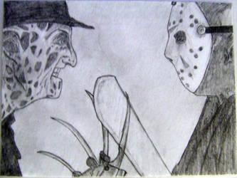 Freddy vs. Jason by Itwantstoeatme