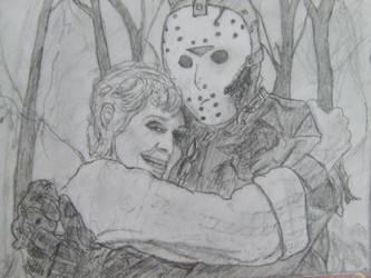 Jason and Pamela Voorhees by Itwantstoeatme