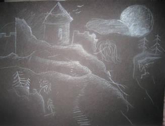 Dracula's Castle by Itwantstoeatme