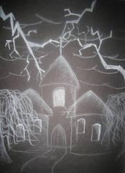 Dr. Frankenstein's Castle by Itwantstoeatme