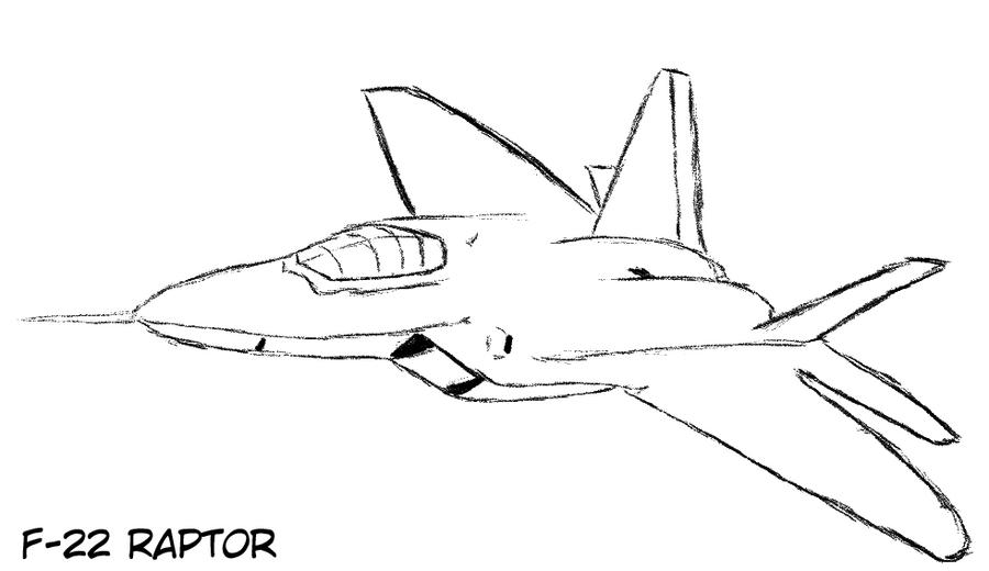 f 22 raptor coloring pages - photo #4