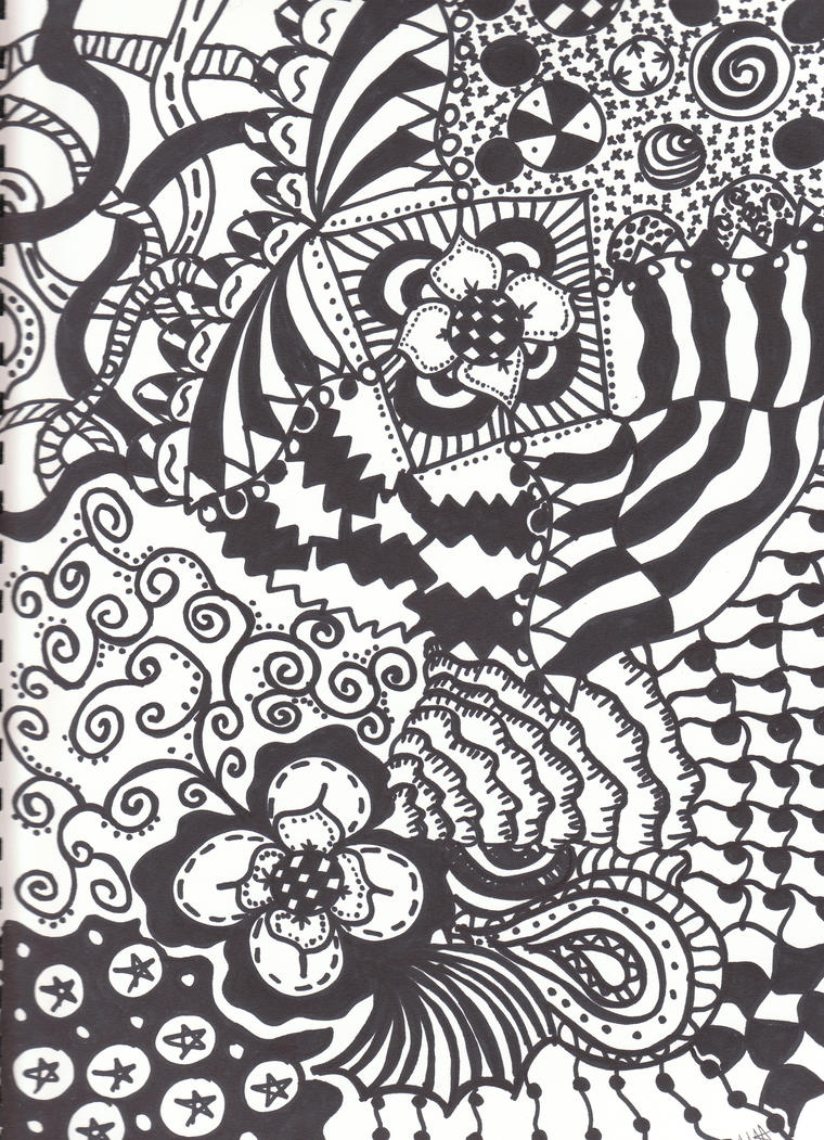 Zendoodle by Music-Saves-Me
