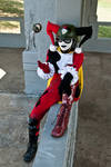 DCUO Harley Quinn - Playful and mischievous