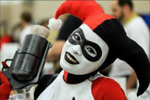 Ha ha Harley Quinn by Enasni-V