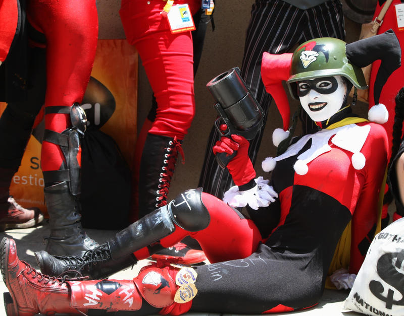 SDCC 2012: Leisurely Harley by Enasni-V