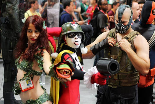SDCC 2012: Harley's a classy lady