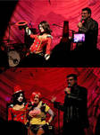 Moxxi and Lilith: On stage by Enasni-V