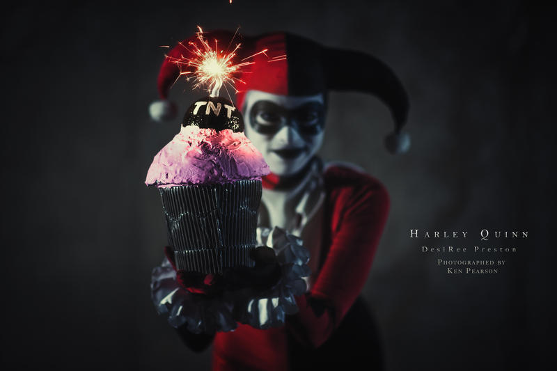 Harley Quinn - Birthday Surprise! by Enasni-V
