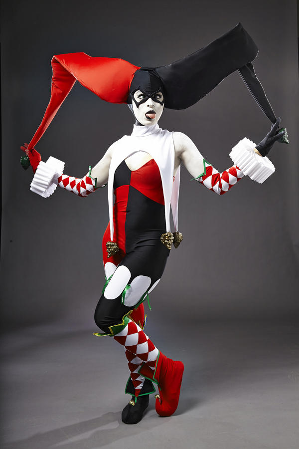 Ame Comi Harley Quinn - Goofy Girl by Enasni-V