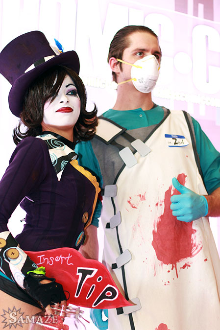 DCC Dr Zed and Moxxi by Enasni-V