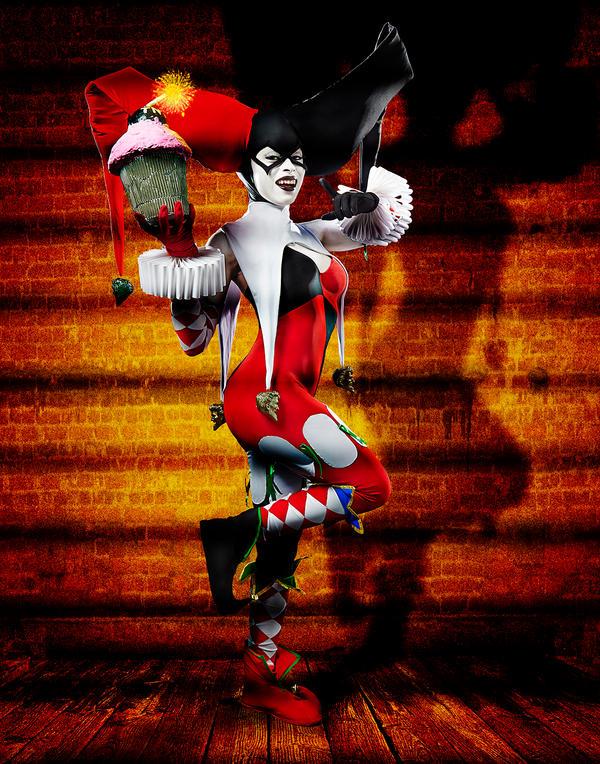 Ame Comi Harley Quinn - Sugarbomb by Enasni-V